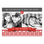 Happy Holidays. Custom Christmas Photo Cards Announcement