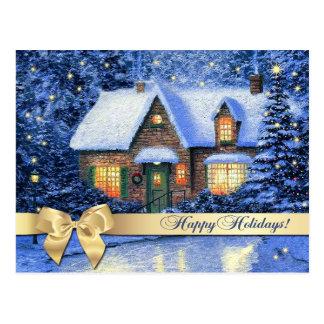 Happy Holidays Customizable Christmas Postcards