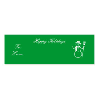 Happy Holidays - Customized Business Card Templates