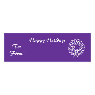Happy Holidays - Customized Business Card Template