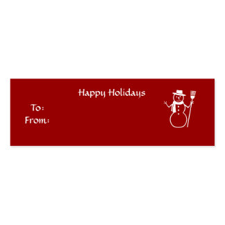 Happy Holidays - Customized Business Card