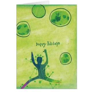 "Happy Holidays ""Dance of Joy"" Greeting Card"