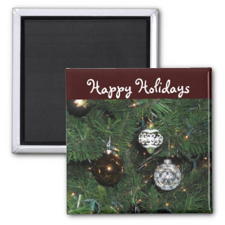 Happy Holidays Decor Magnet