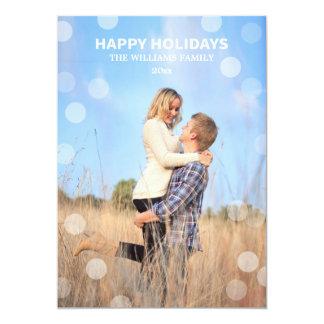 Happy Holidays Dotty Cards 13 Cm X 18 Cm Invitation Card