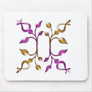 Happy HOLIDAYS : Floral JEWEL Decorations Mousepad