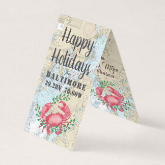 Happy Holidays from Baltimore Nautical Gift Tags