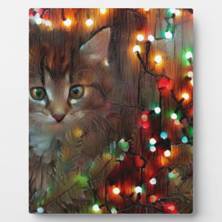 Happy holidays from Kitty Plaque