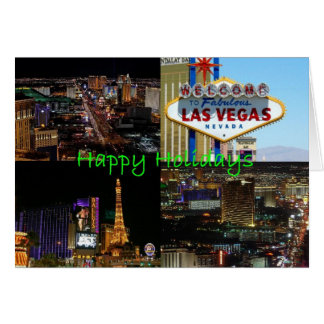 Happy Holidays from Las Vegas Card (Scenic)