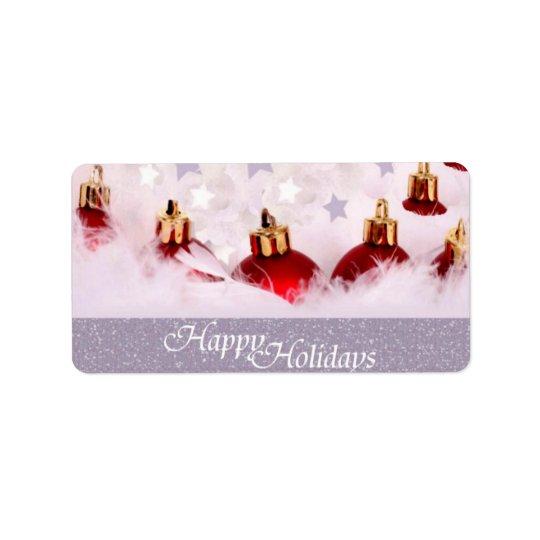 Happy Holidays Gift Tag