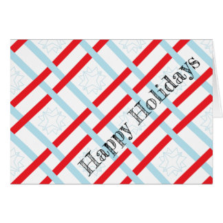 Happy Holidays Gift Wrapped Greeting Cards