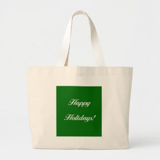 Happy_Holidays_Green Bag