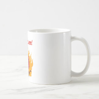 Happy Holidays Greeting With Halloween Devil Coffee Mug