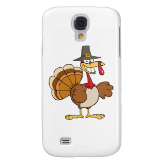 Happy Holidays Greeting With Turkey Samsung Galaxy S4 Cases