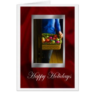 Happy Holidays Greetings Card