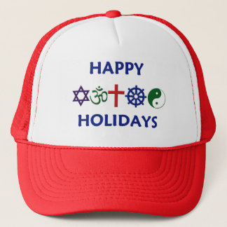 HAPPY HOLIDAYS Hat