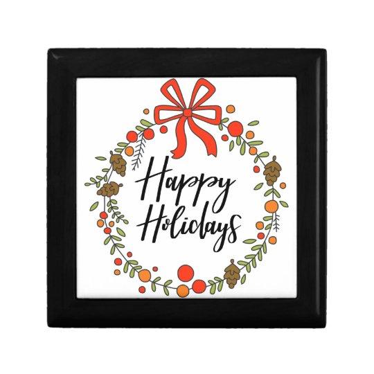 Happy Holidays, Holiday Fun Gift Box