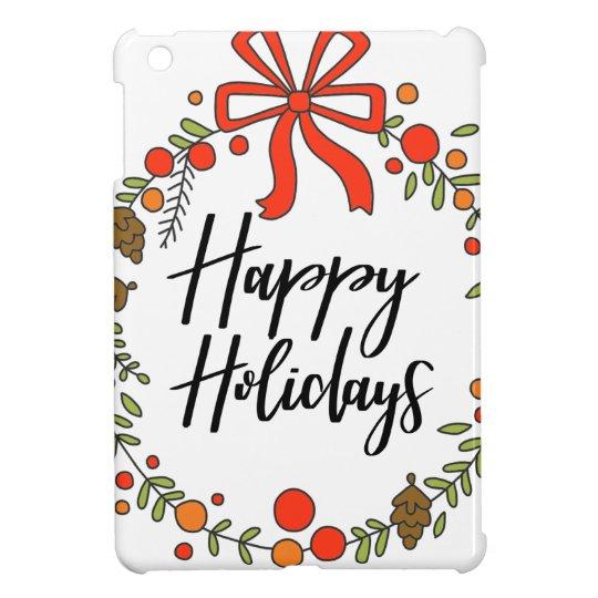 Happy Holidays, Holiday Fun iPad Mini Cases