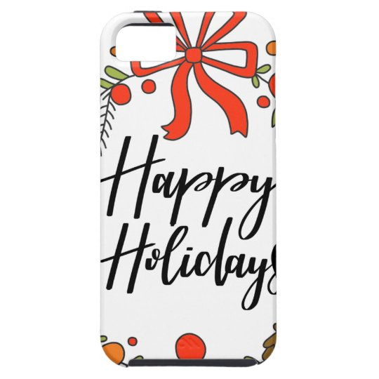 Happy Holidays, Holiday Fun iPhone 5 Case