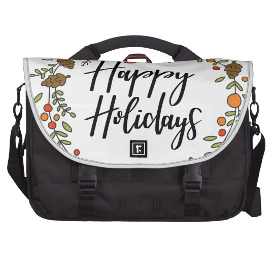 Happy Holidays, Holiday Fun Laptop Bags