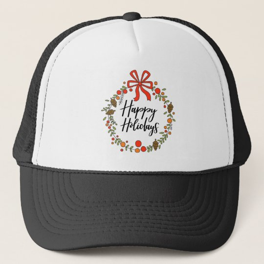 Happy Holidays, Holiday Fun Trucker Hat