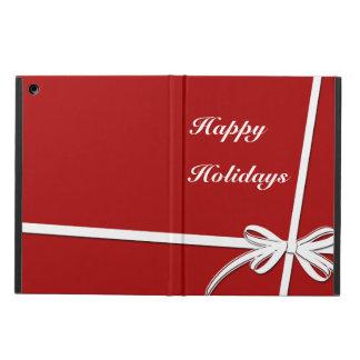 Happy Holidays iPad Air Cover