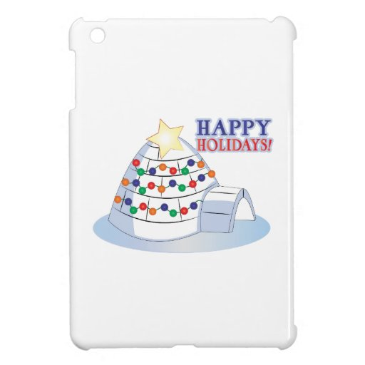 Happy Holidays Cover For The iPad Mini