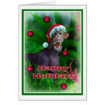 Happy Holidays Jungle Style 003 Greeting Card