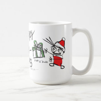 Happy Holidays lil'DudE Coffee Mug
