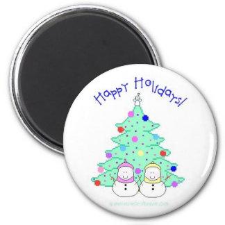 Happy Holidays! Magnet