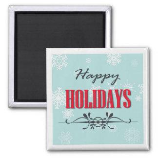 Happy Holidays Fridge Magnet