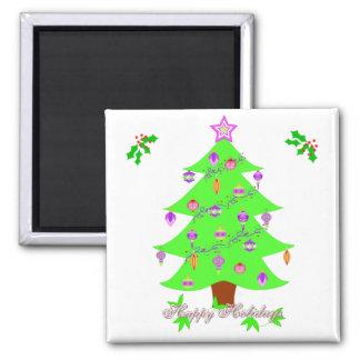 Happy Holidays Magnet