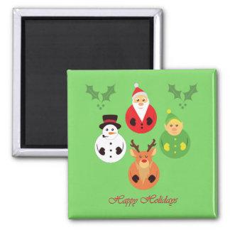 Happy Holidays! Refrigerator Magnet