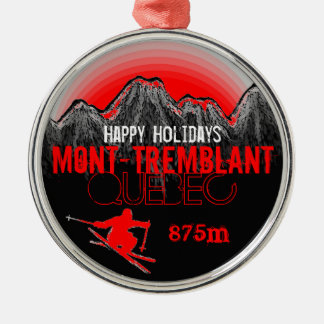 Happy Holidays Mont Tremblant Quebec ornament