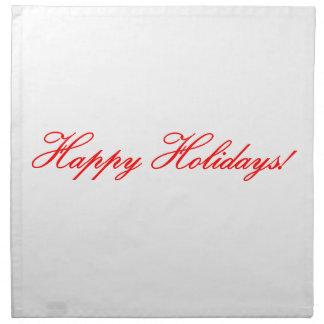 Happy Holidays! Napkin