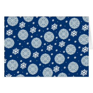 Happy Holidays - navy blue Card