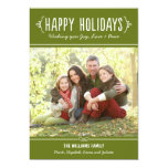 Happy Holidays Photo Card | Joy Love Peace Wishes 13 Cm X 18 Cm Invitation Card