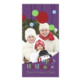 Happy Holidays Photo Card Modern Decorations