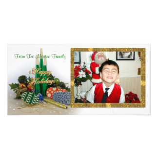 Happy Holidays photo card party items