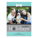 Happy Holidays Photo Card | Puppy Dog Theme Invite