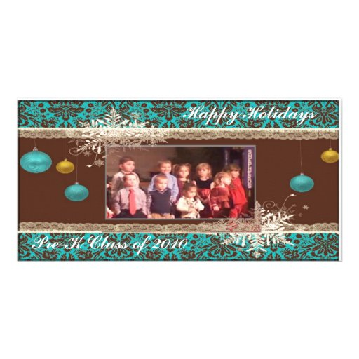 Happy Holidays Photo Card Template