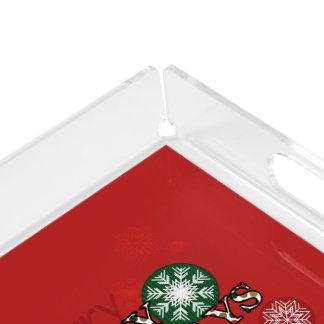 Happy Holidays Polkadot Word Art