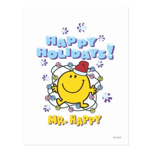 Happy Holidays! Post Card