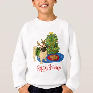 Happy Holidays Pug Tees and Sweats