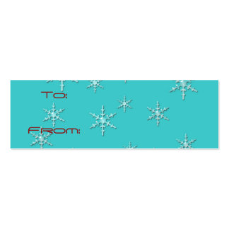 happy holidays retro gift tag business card templates