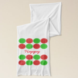 Happy Holidays Scarf