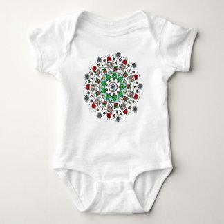Happy Holidays Shirts: Santa Baby Onsie Baby Bodysuit