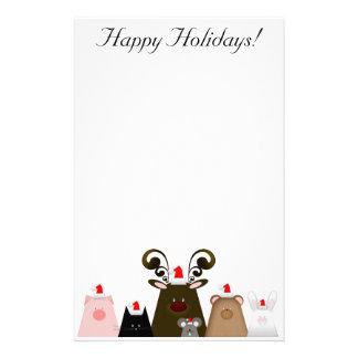 Happy Holidays Stationery