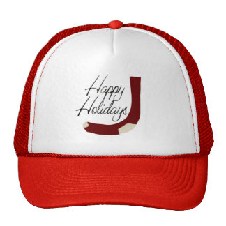 Happy Holidays Stocking Hat