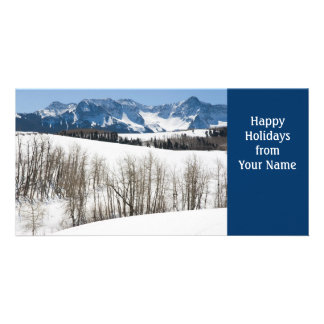 Happy Holidays Template Card Picture Card