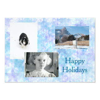 Happy Holidays Template Invitation-style Greeting